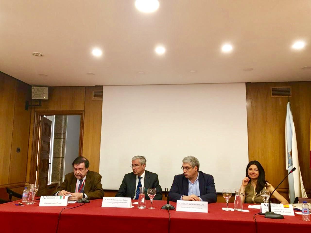 Clausuradas Las XI Jornadas Iberoamericanas De Derecho Administrativo