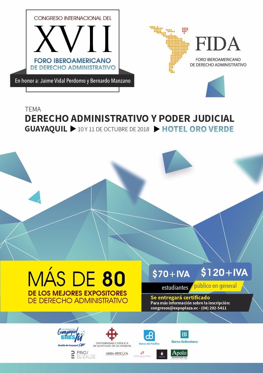 Convocado El XVII Congreso De Derecho Administrativo Y Poder Judicial