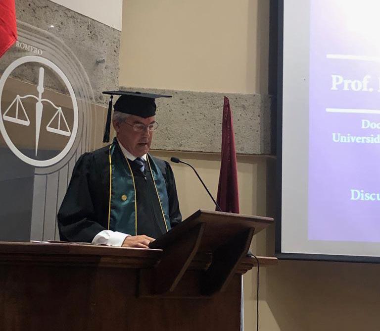 Doctorado Honoris Causa De Jaime Rodríguez-Arana En Costa Rica