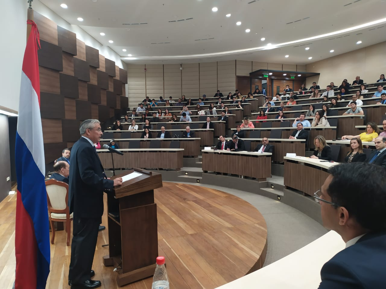 Conferencia De Jaime Rodríguez-Arana En El Banco Central Del Paraguay